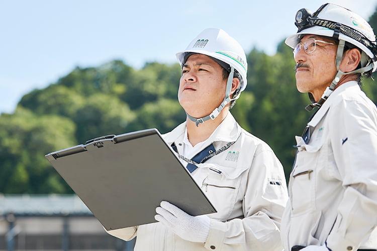 迅速な作業と安全管理の徹底